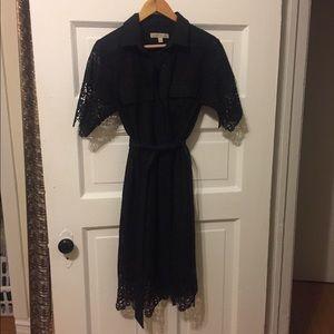 Black Lacey dress.